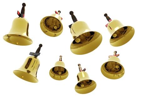 Foto für digital visualization of jingle bells - Lizenzfreies Bild