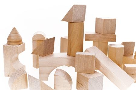 Photo pour Close up of building blocks - image libre de droit