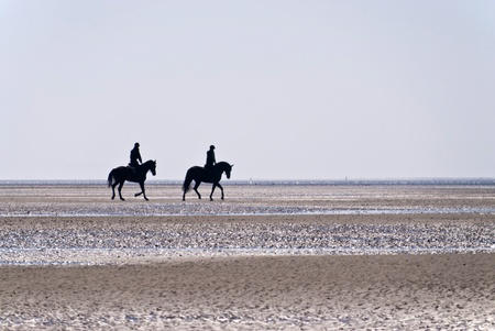 Beach of St. Peter-Ording, Germany
