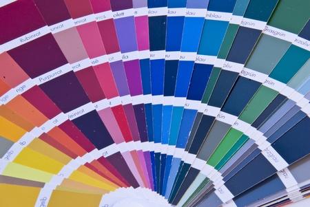 Detail of a Color Fan