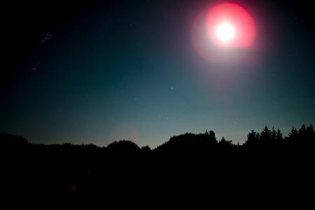 Night sky in Germany