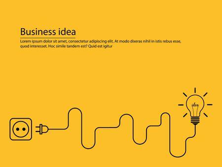 Illustration pour concept business idea - image libre de droit