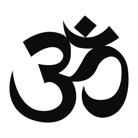 Ilustración de om sign and symbol - Imagen libre de derechos
