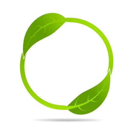 Illustration pour Ecology concept and Environmental, Banner design elements for sustainable energy development, Vector illustration - image libre de droit
