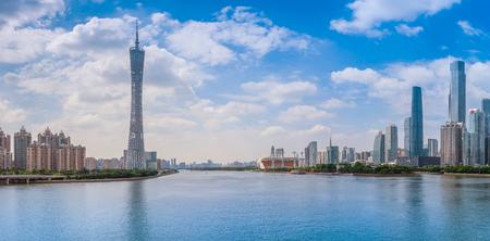Guangzhou CBD panorama