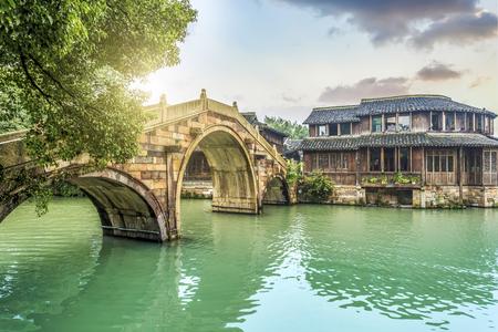 Photo pour Wuzhen scenery - image libre de droit