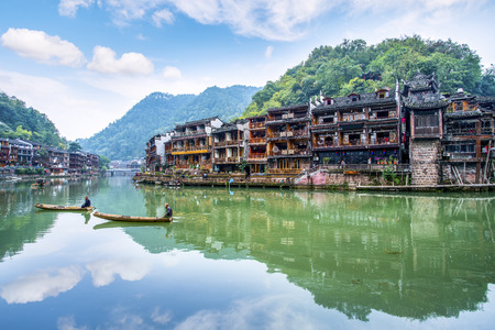 Photo pour Hunan Xiangxi Fenghuang Ancient City - image libre de droit