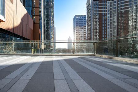 Photo pour Qingdao modern city architecture landscape - image libre de droit