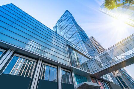 Foto de Suzhou modern city architecture office building - Imagen libre de derechos