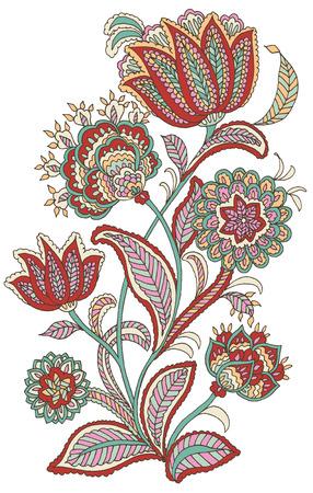 Foto de Paisley Style Flower - Imagen libre de derechos