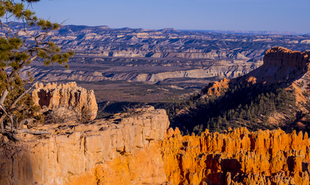 Wonderful Scenery at Bryce Canyon National Park in Utah