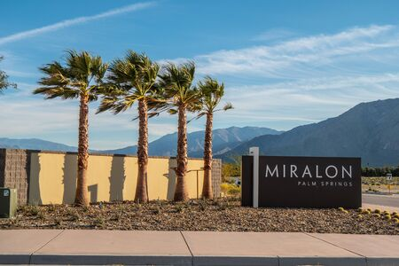 The Miralon Palm Springs - CALIFORNIA, USA - MARCH 18, 2019