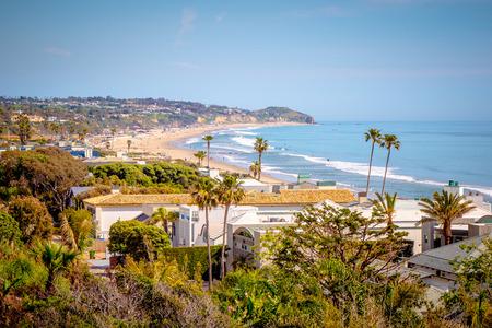 Photo pour Beautiful Pacific Coast at Malibu California - image libre de droit