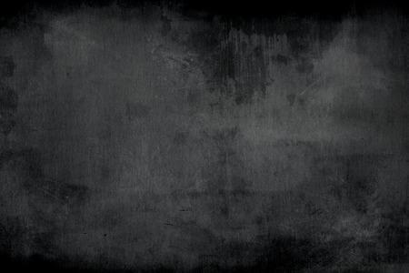 Blank cleaned chalkboard