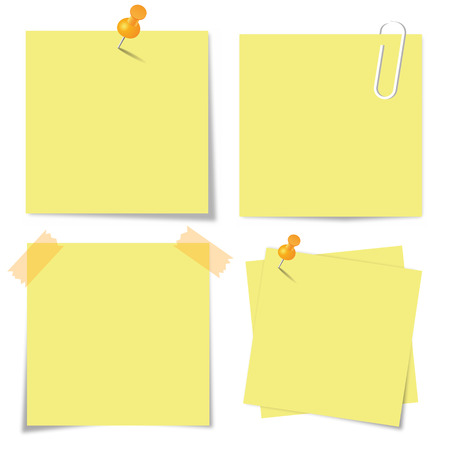 Sticky paper set