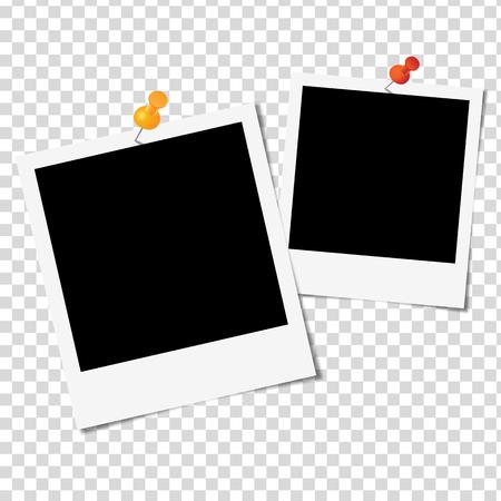 Illustration pour Photo Frame on white background - Vector illustration - image libre de droit