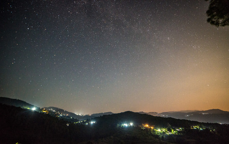 Photo for Milkyway in Bageswar, Uttrakhand, India - Royalty Free Image