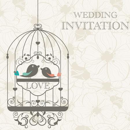Foto de pattern for wedding invitation - Imagen libre de derechos