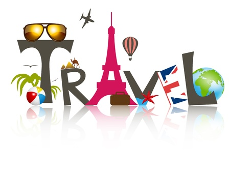 Photo for Vector travel business design - Royalty Free Image
