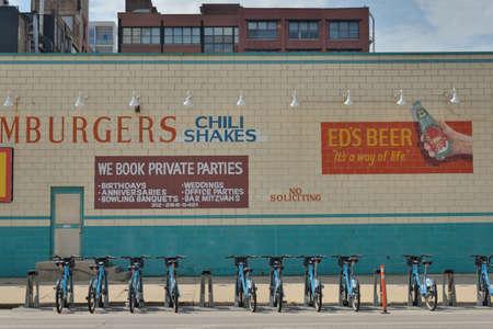 billboard at America street