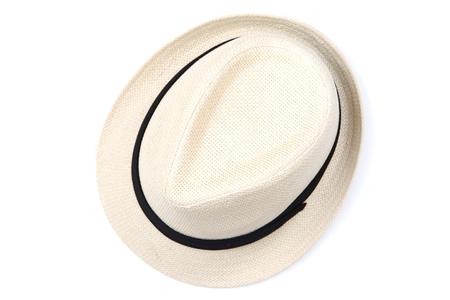 Photo pour Fashion hat isolated on white background - image libre de droit