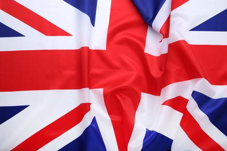 Photo pour Background of british flag - image libre de droit