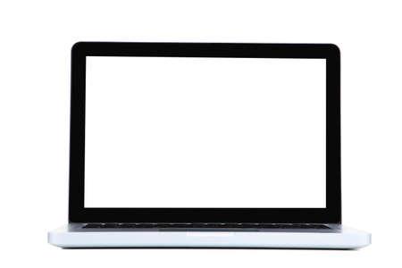 Photo pour Laptop computer isolated on white background - image libre de droit