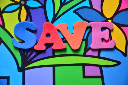 word save onan abstract background