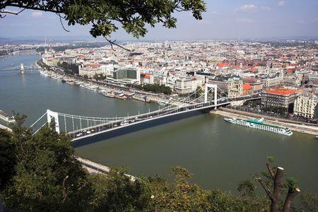 Budapest- panorama from  Gellert  hill