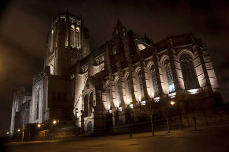 Liverpool Anglican Cathedral at Night