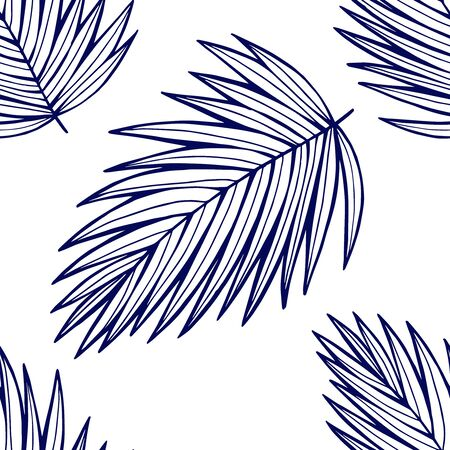 Photo for Tropical wild neon seamless pattern. - Royalty Free Image