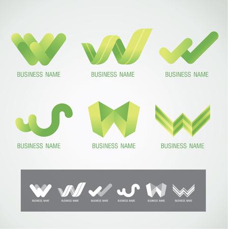 Logo and Symbol design W concept