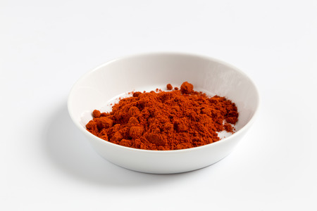 Paprika in a bowl as a Cut.
