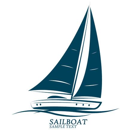 sailing boats illustration