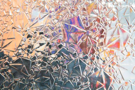 varicoloured abstract background from geometric figures