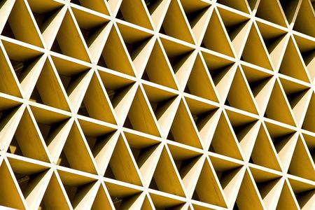 Close up shot of geometric texture background