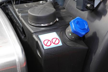 Diesel exhaust fluid additive for trucks