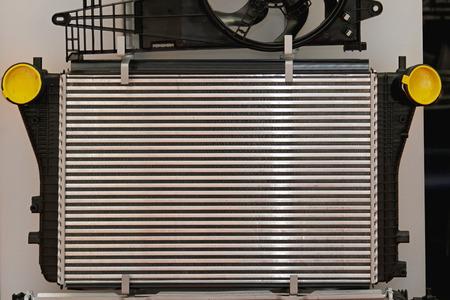 Aluminium car cooling radiator part