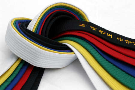 Martial Arts Belts 3 - From White Belt to Black belt