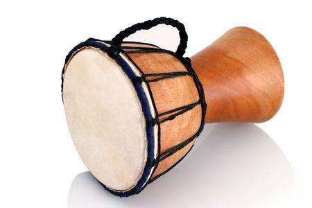 Jambe Drum - Horizontal Profile - Balinese gamelan making mahogany wood drum