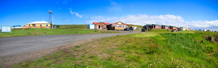 Grimsey island in Iceland