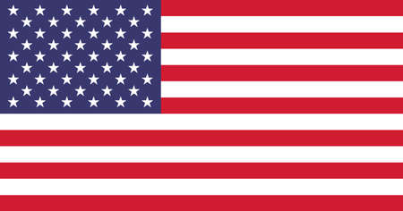 The official flag of the United States of America