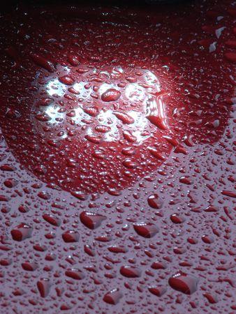 Magenta waterdrops texture detailed background