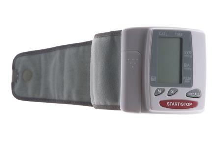 object on white - tool blood pressure monitor macro
