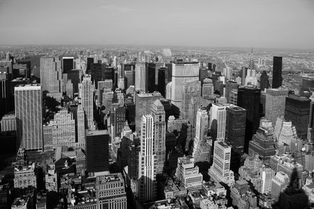 View on towers of Manahattan  - New York