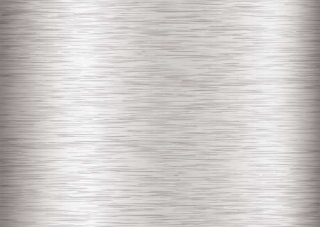 Silver steel background with metal grain and stroke effect