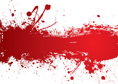 Blood red banner with room to add your own text