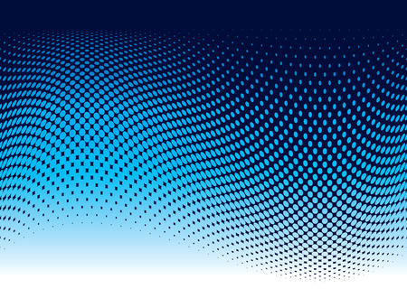 Abstract ocean wave background in blue with copy space