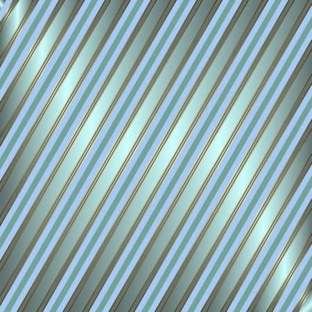Diagonal blue and silvery striped background