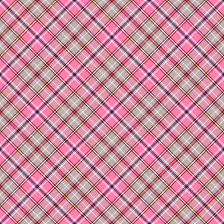 Pink and grey seamless pattern